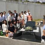 加古川の日光山墓園にて洋墓を建立