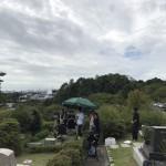 芦屋霊園にてお墓のリフォーム&納骨式