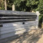 弓弦羽神社足型石碑プレートが人気です。