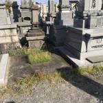 富山県滑川市、寺院墓地、建て替え工事