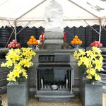 東京都港区のお寺様にて、ベトナムの方を供養する日越親善供養塔が完成しました。