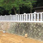 神戸市北区の神社様にて、玉垣の作り替えをいたしました。