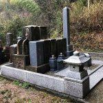 高知県の山あいの共同墓地で墓地の改修工事を行いました。墓石の一部は神戸へお引越しです。