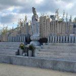 洲本市の金屋観音寺にある永代供養墓の追加工事を行いました。