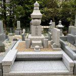 西宮市の鷲林寺に万成石の古代型五輪塔が完成しました。石の磨きを抑えて落ち着いた仕上がりに。