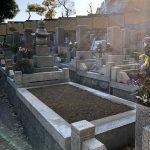 神戸市の寺院墓地で五輪塔と夫婦墓のお墓じまいをして、鵯越墓園の合葬式墓地に改葬を行いました。