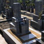 和歌山の共同墓地に大島石で神戸型7寸の和型墓石を建てさせていただきました。