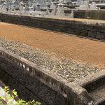 三田市の永沢寺三田霊園でお墓じまいの工事を行い、尼崎市の法園寺に改葬を行いました。