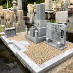 奈良県御所市の寺院墓地でお墓のリフォーム工事、墓地の整備とお墓の整理でお参りしやすくなりました。