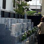 尼崎市法園寺の永代供養墓のお盆まいりの様子をご紹介いたします。